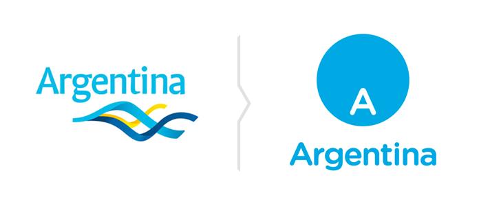 Rebranding marki turystycznej Argentyny - nowe logo