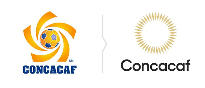 Rebranding Concacaf - stare i nowe logo