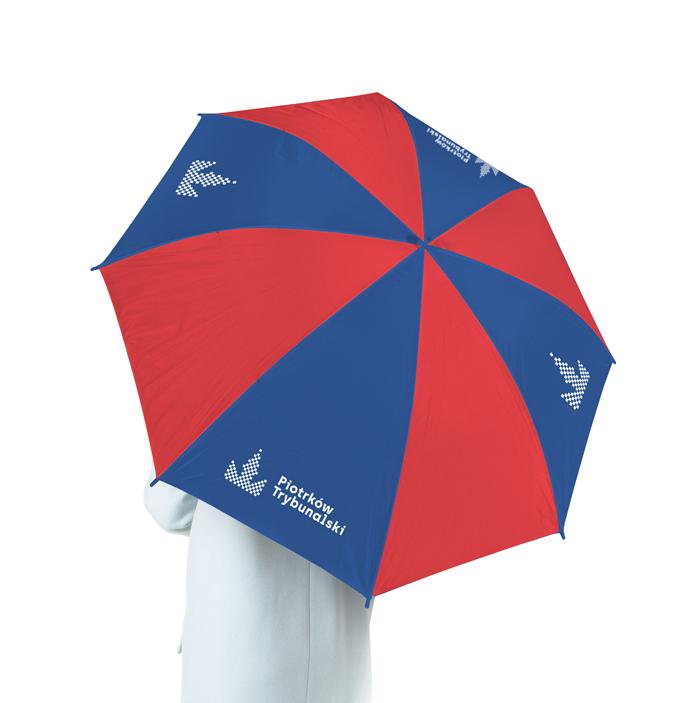 Materiał promocyjny Piotrkowa Trybunalskiego - parasol