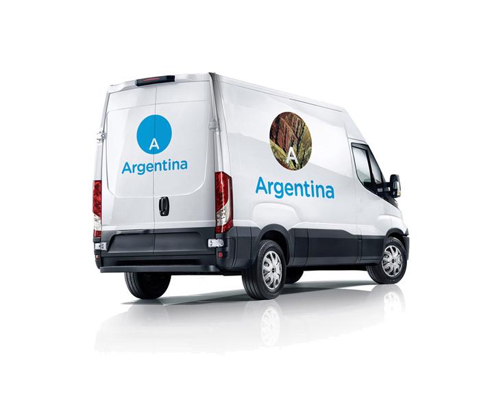 Rebranding logo Argentyny