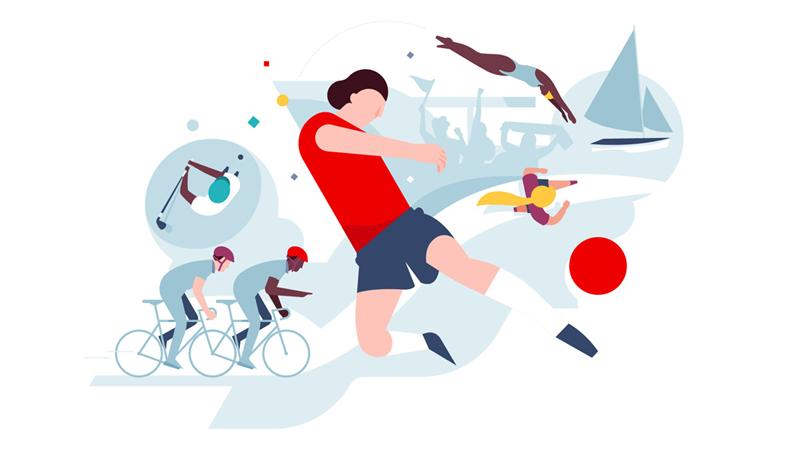 Santander Bank - nowa stylistyka ilustracji