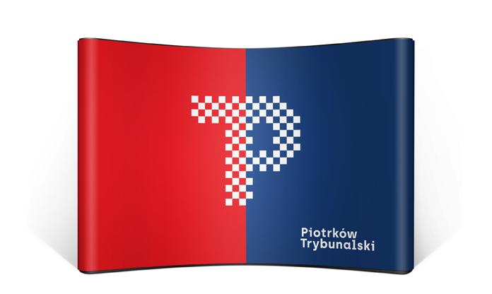 Nowa identyfikacja Piotrkowa Trybunalskiego - ścianka