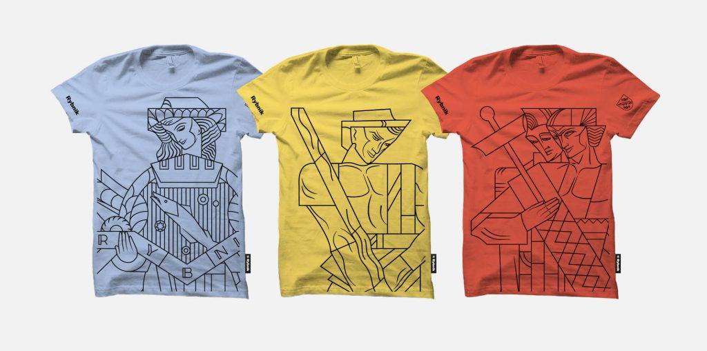 Koszulki z nową identyfikacją Rybnika