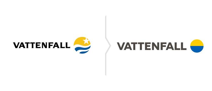Rebranding Vattenfall - nowe logo