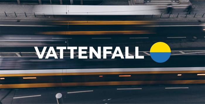 Vattenfall rebranding - nowe logo