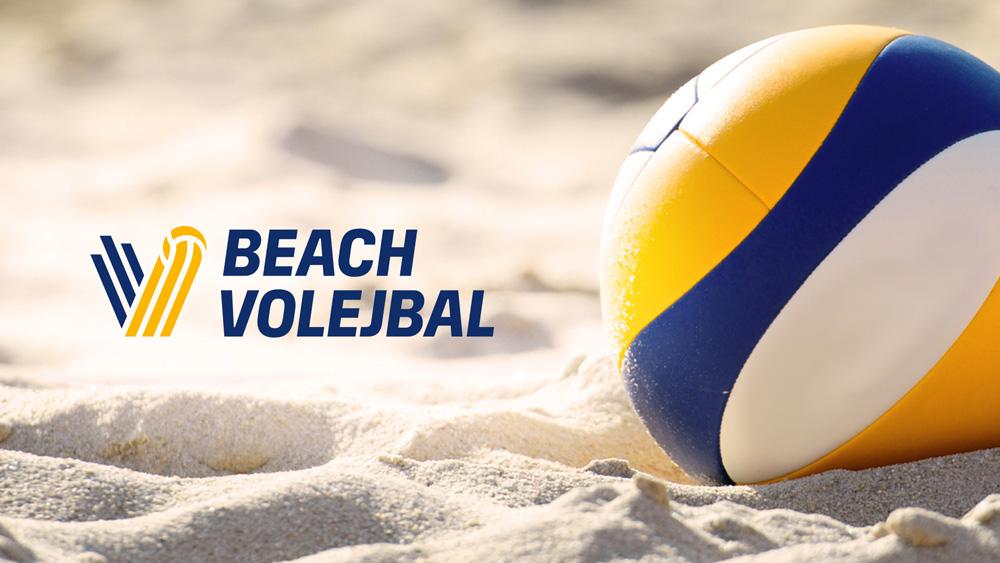 Wariant logo siatkowki plażowej