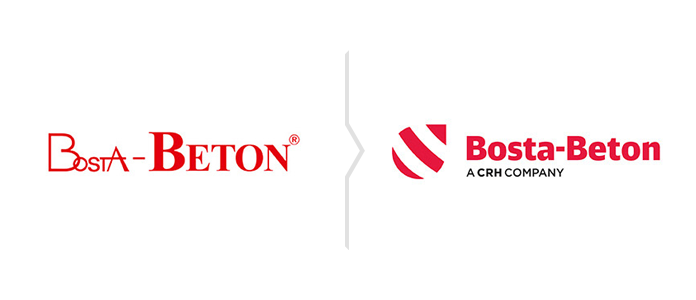 Rebranding Bosta-Beton - nowe logo