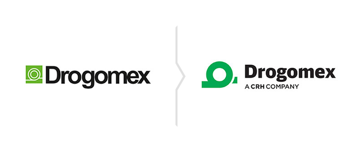 Rebranding marki Drogomex - nowe logo