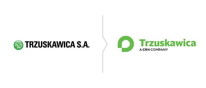 Rebranding marki Trzuskawica - nowe logo