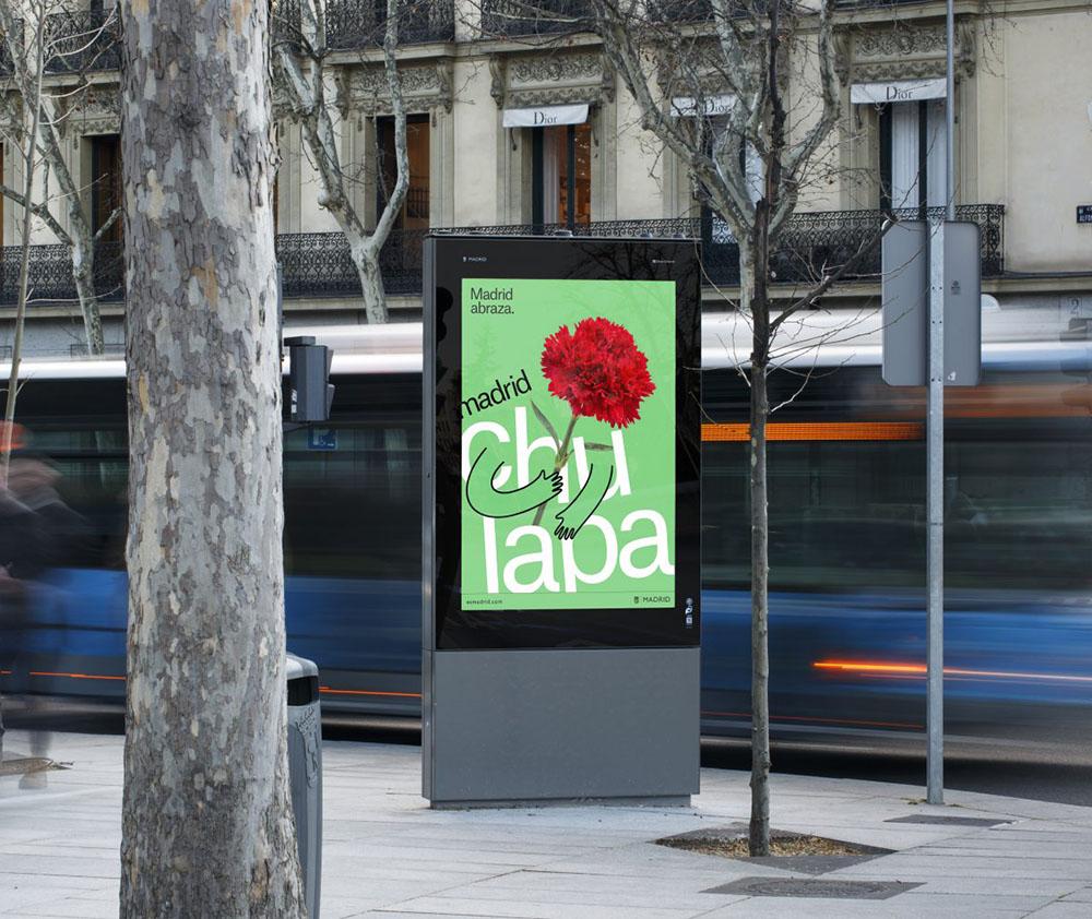 Nowa identyfikacja Madrytu - wizualizacja