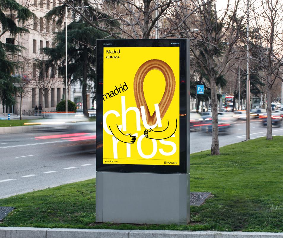 Nowa identyfikacja Madrytu - plakat