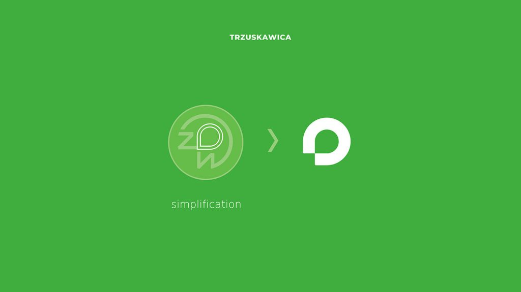 Trzuskawica - symbolika nowego logo