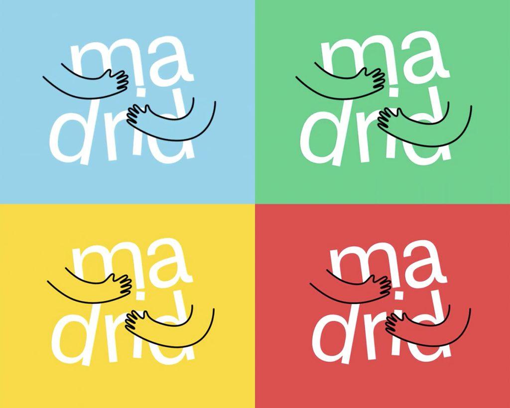 Warianty nowego logo Madrytu