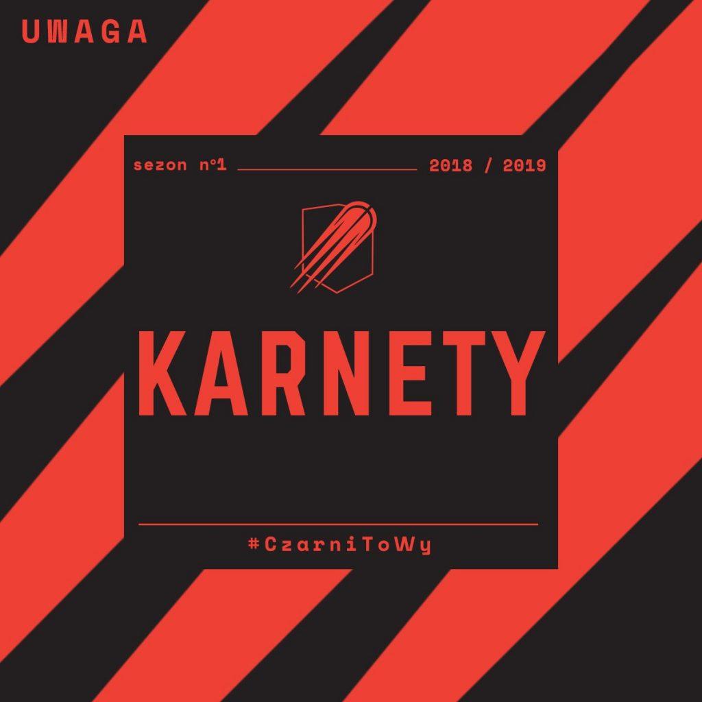 Karnety - nowe logo Czarnych Słupsk