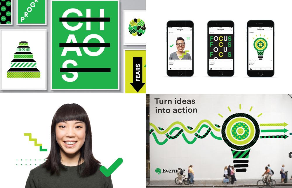 Evernote rebranding 2018 - nowe logo