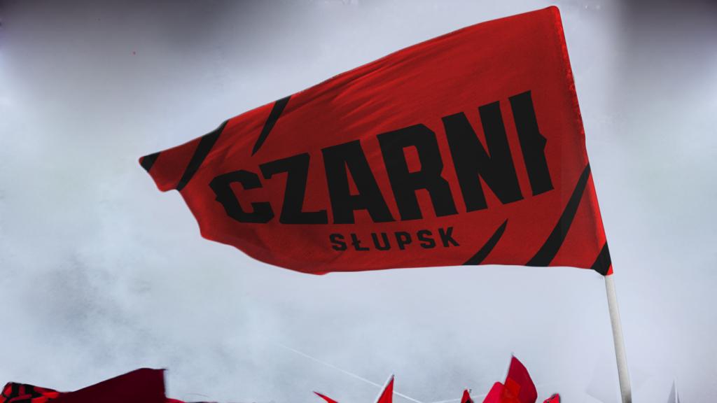 Nowa flaga Czarnych Słupsk
