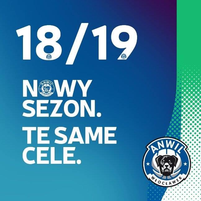 Grafika promocyjna - Anwil Włocławek rebranding