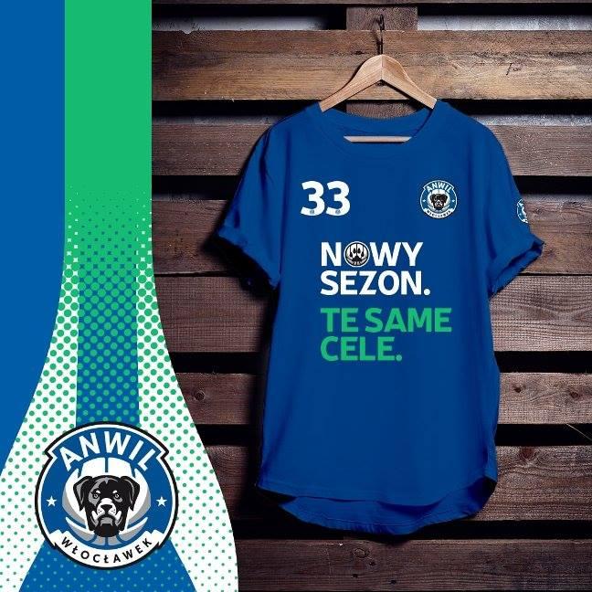 Koszulka promocyjna - Anwil Włocławek 2018