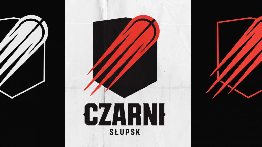 Nowe logo Czarnych Słupsk 2018