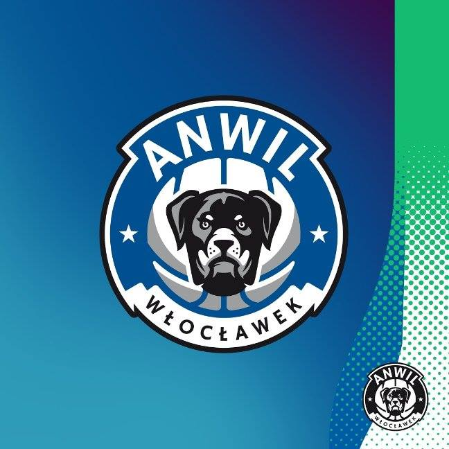Prezentacja nowego logo Anwilu Włocławek