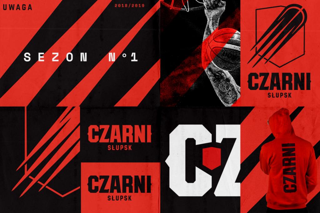 Czarni Słupsk - nowa identyfikacja 2018