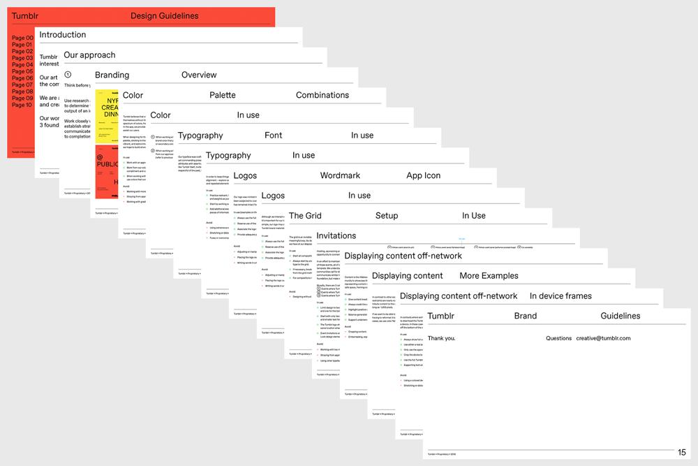 Nowa identyfikacja wizualna Tumblr