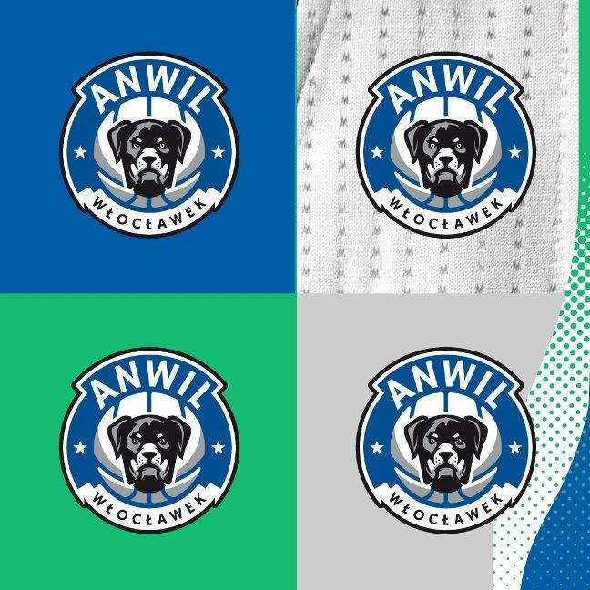 Warianty nowego logo Anwilu