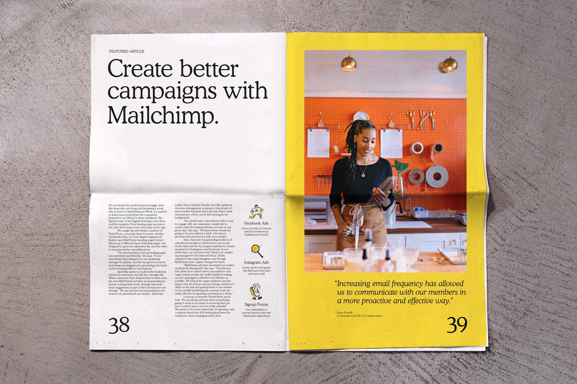 Mailchimp rebranding 2018 - magazyn
