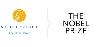 Rebranding Nagrody Nobla - porównanie logo