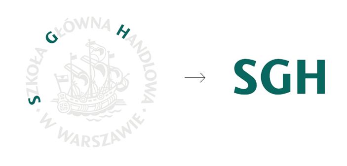Nowe logo SGH w Warszawie - geneza