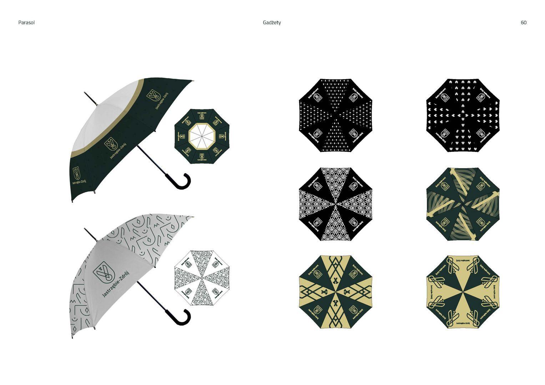 Gadżety - parasol z logo miasta
