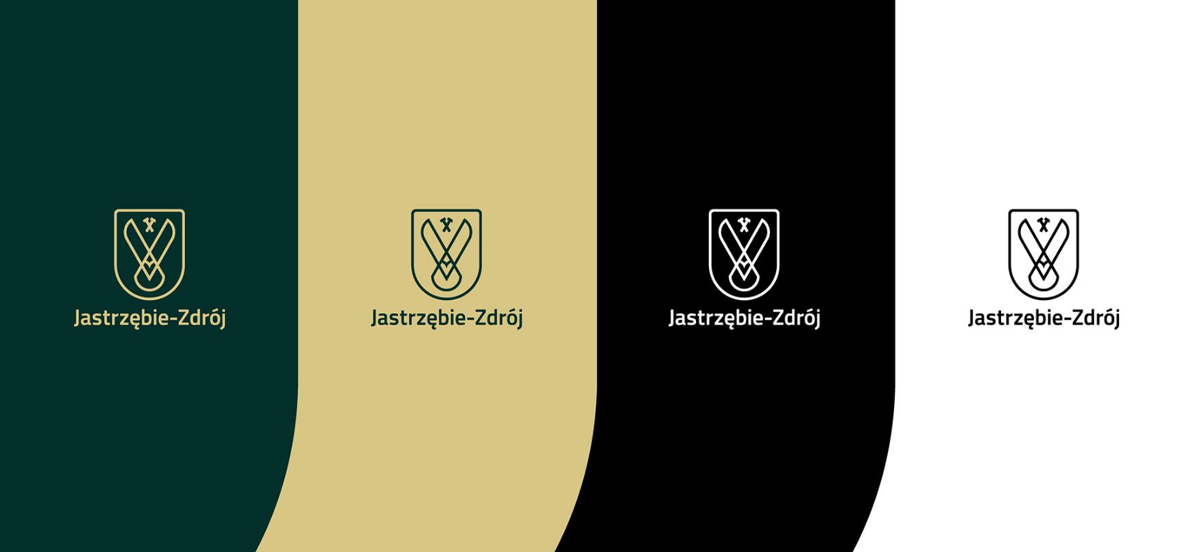 Kolorystyka nowej identyfikacji Jastrzębia-Zdroju