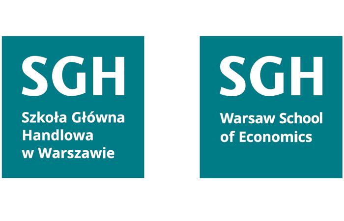 Wersje alternatywne nowego logo SGH 2019