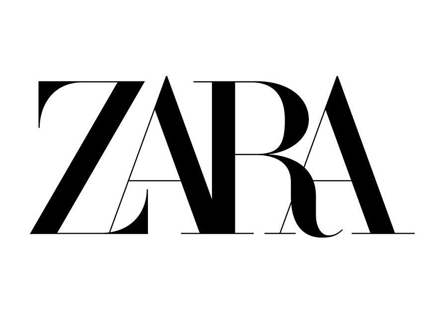 Nowe logo Zara 2019