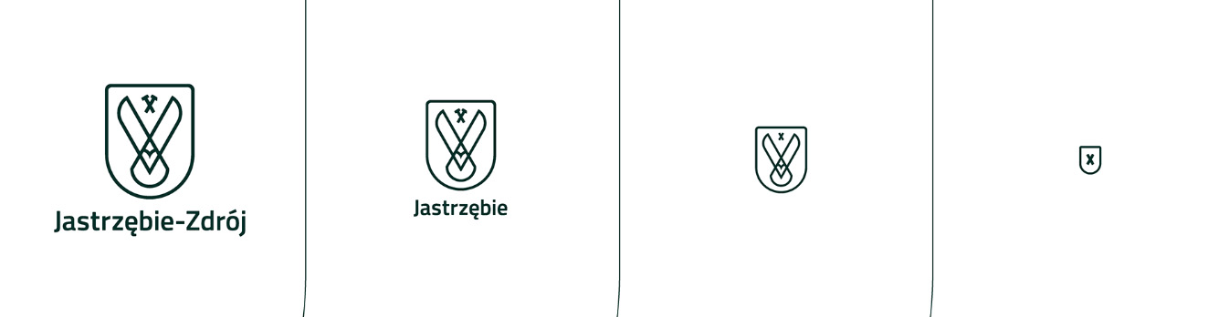 Sposób skalowania logo Jastrzębia-Zdroju