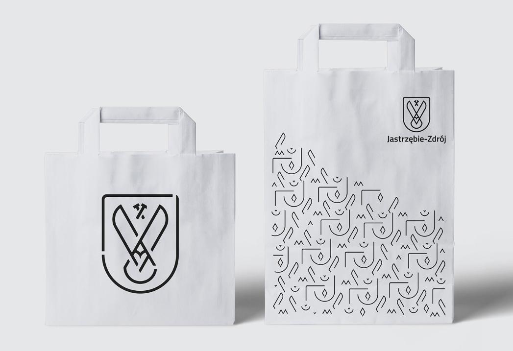 Torba promocyjna z nowym logo Jastrzębia