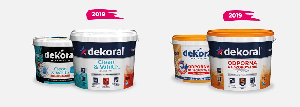 Nowe opakowanie Dekoral 2019