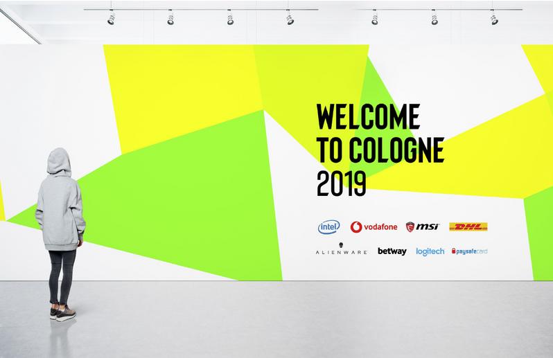ESL rebranding - billboard nowa identyfikacja