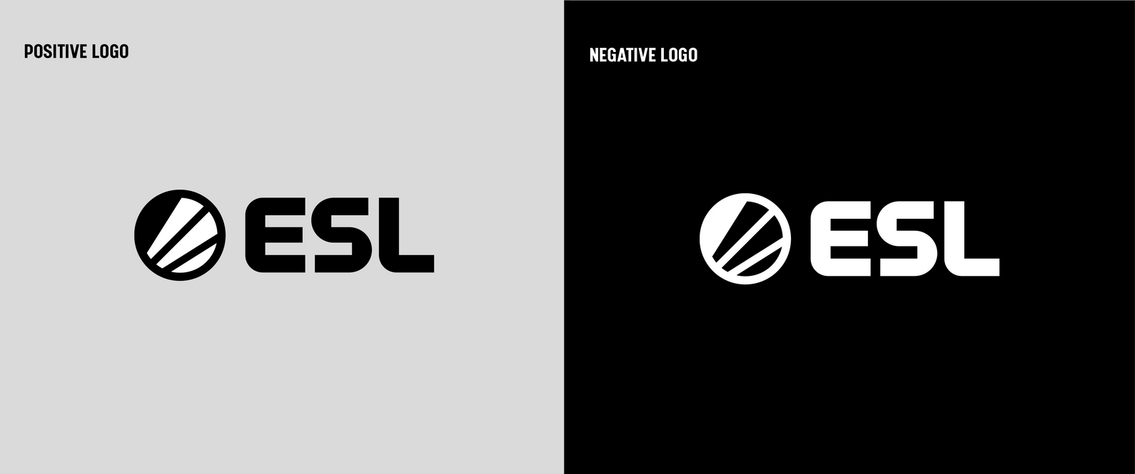 Nowe logo ESL - 2019 rebranding alternatywy