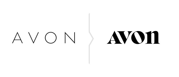 Avon rebranding 2019 - nowe logo