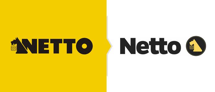 Rebranding sklepów Netto - nowe logo