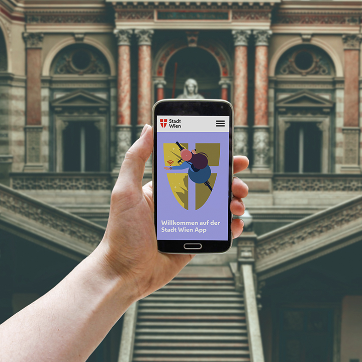 Wiedeńska aplikacja mobilna - interfejs
