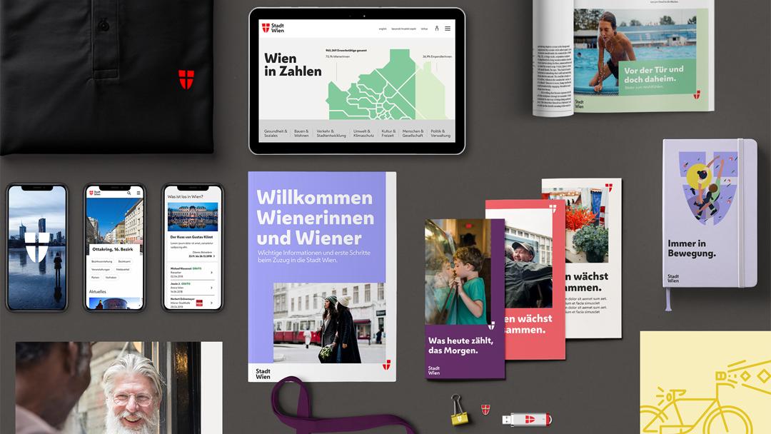 Nowy branding Wiednia po rebrandingu 2019