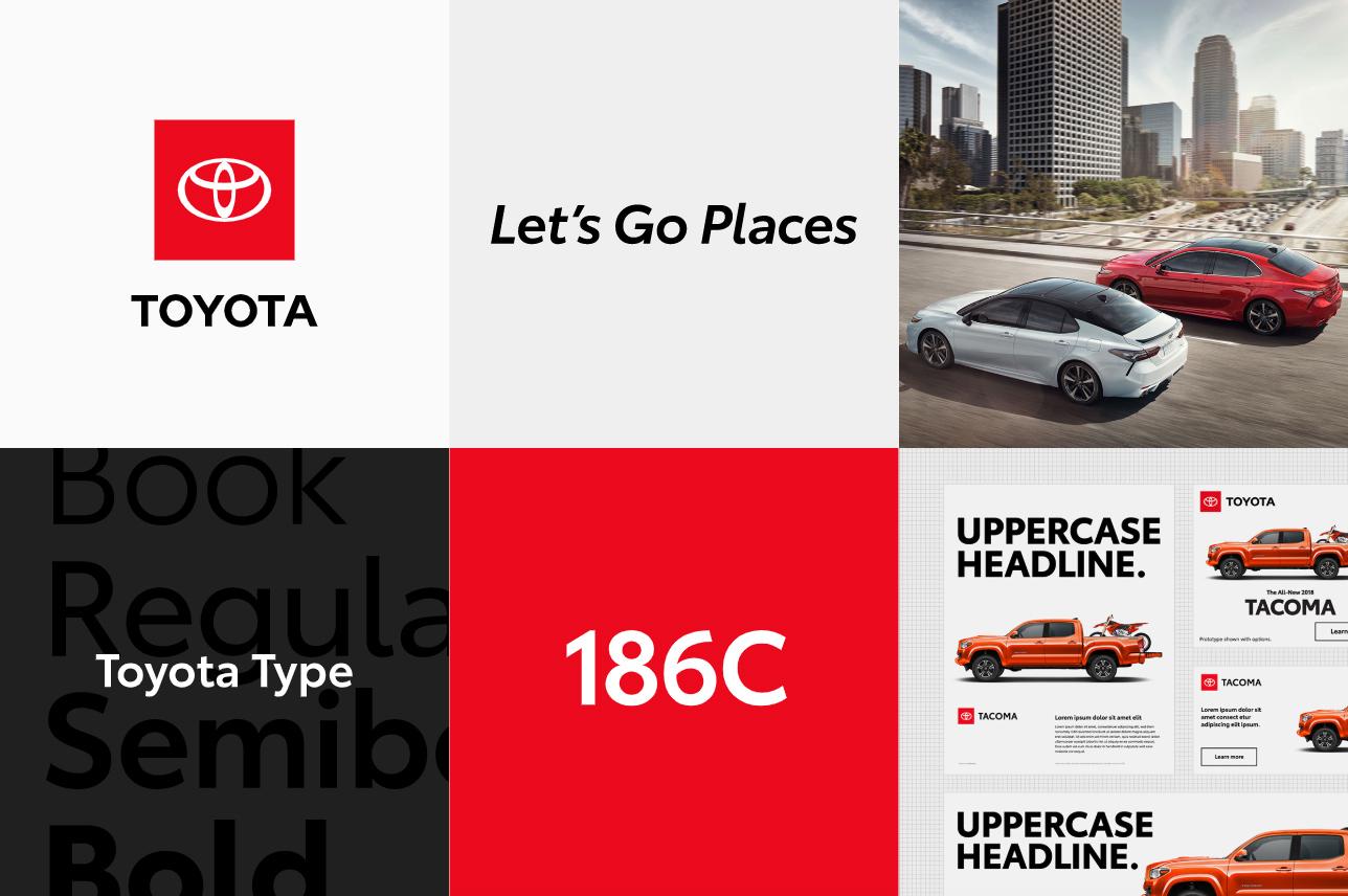 Nowa identyfikacja Toyoty 2019