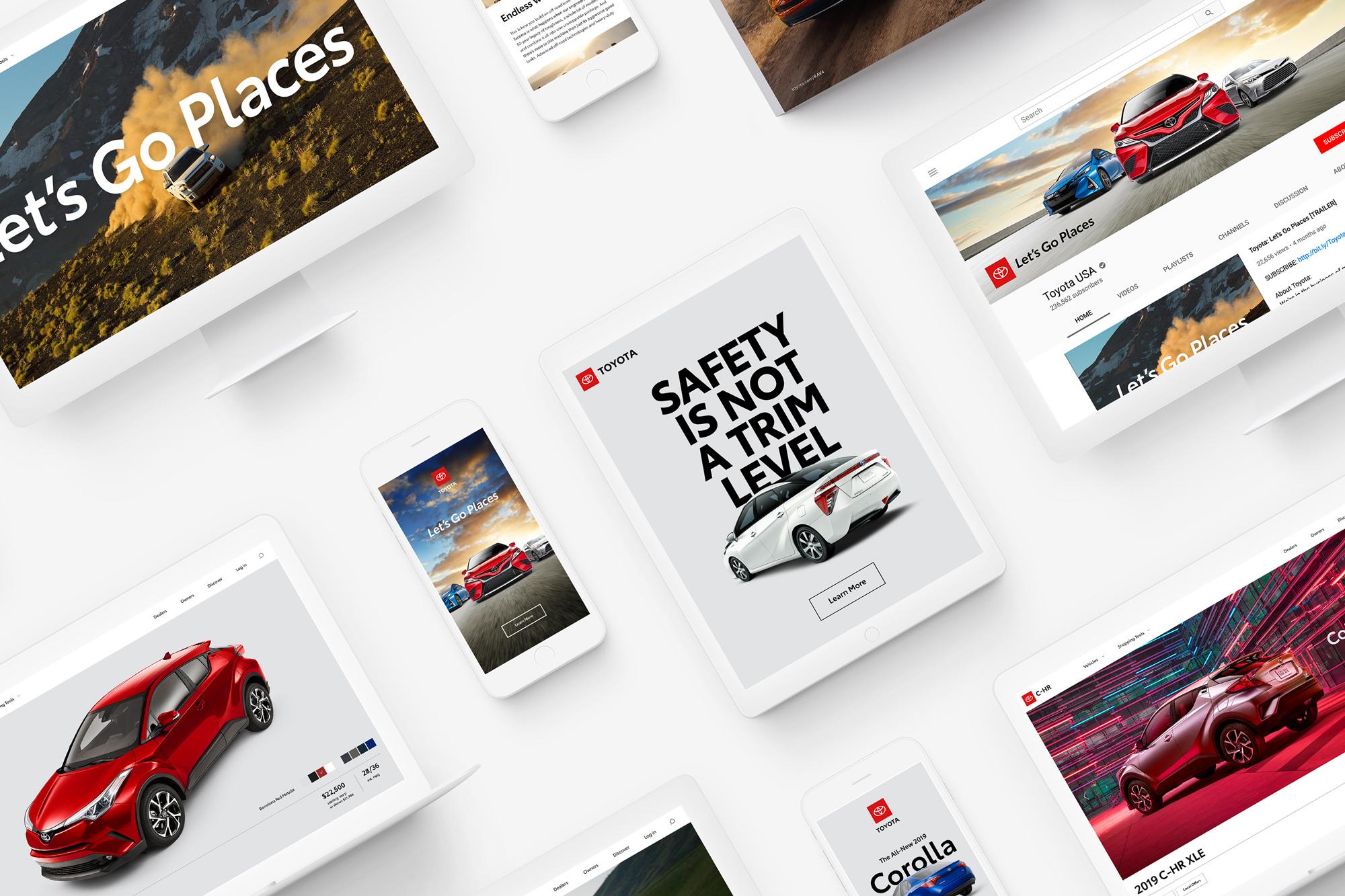 Nowa identyfikacja wizualna Toyoty 2019