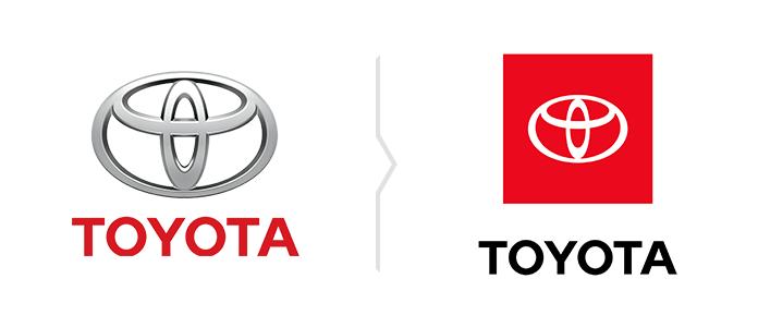 Rebranding Toyoty - nowe logo Toyota
