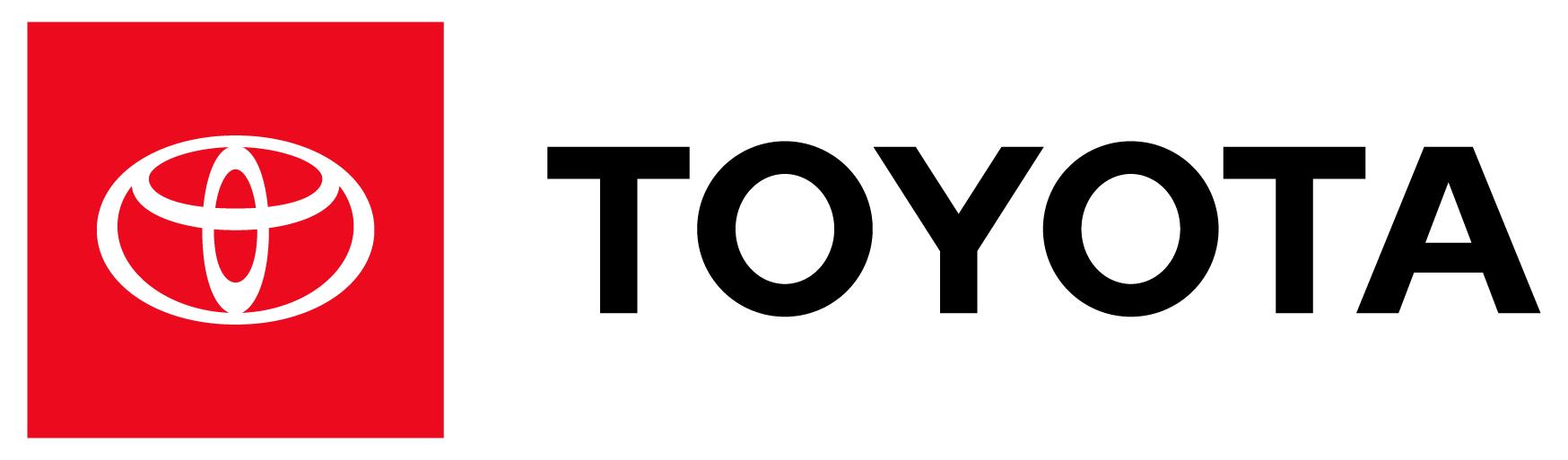 Pozioma wersja logo Toyoty