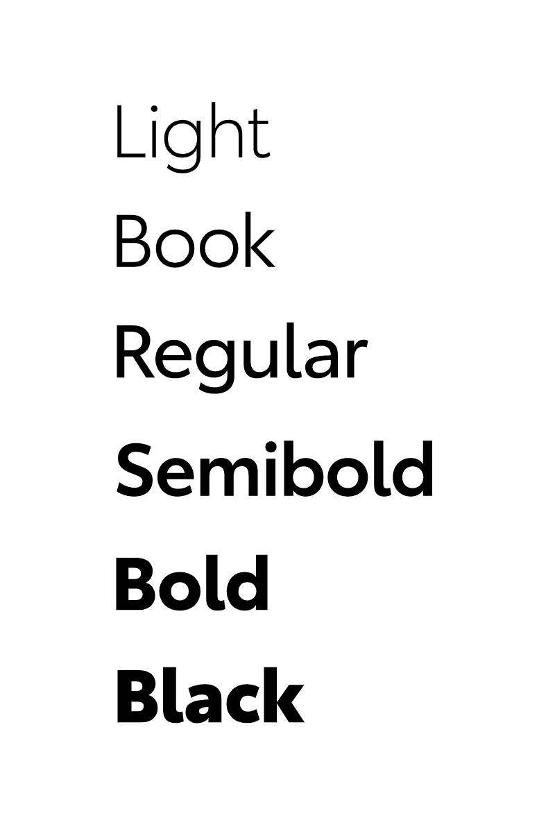 Typografia Toyota Type 2019