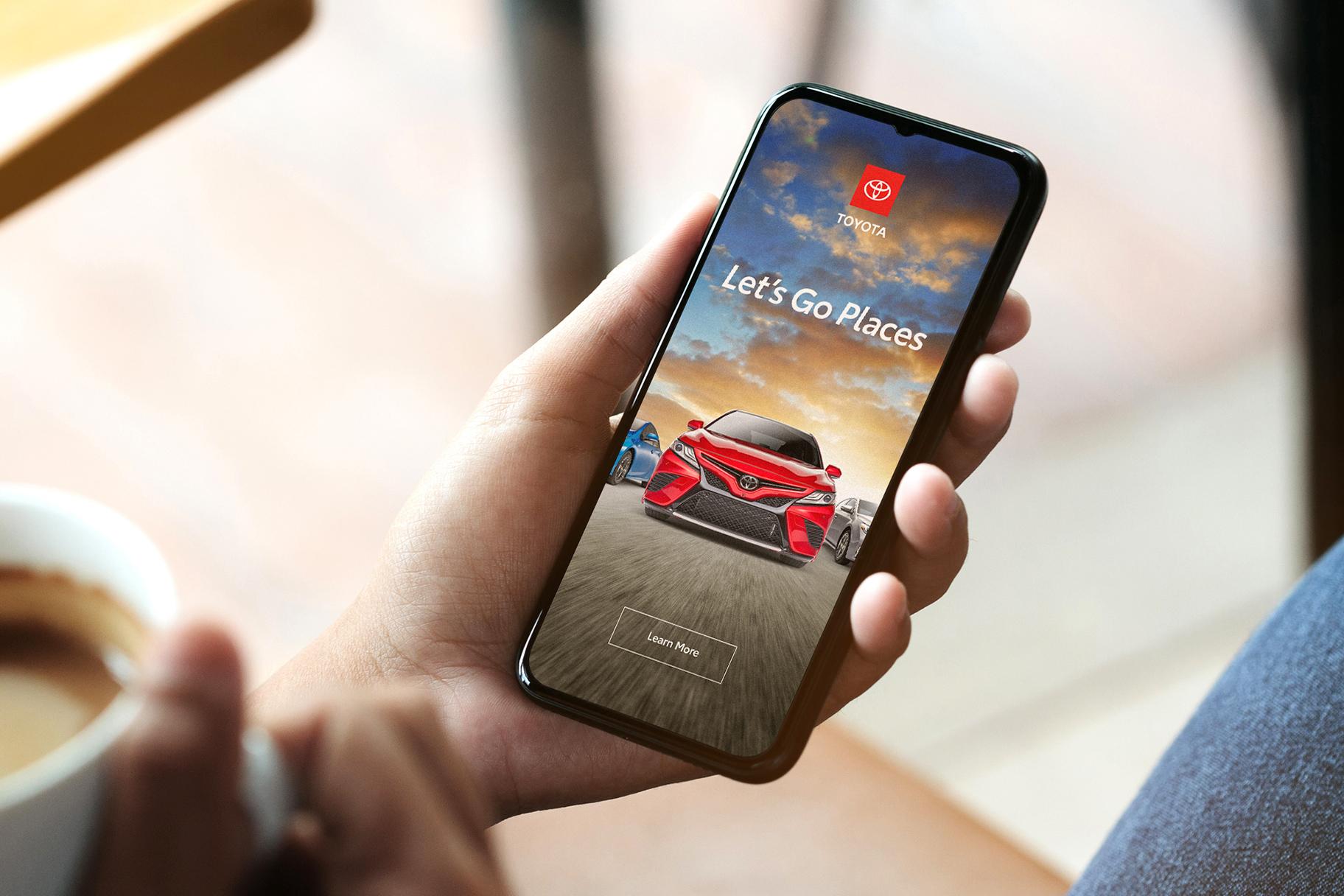 Toyota mobile - rebranding 2019