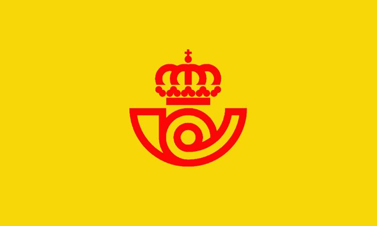 Logo hiszpańskiej poczty z 1977